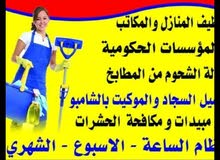 المبتكرون للتنظيفات جميع المنزل والمكتب وسرعة في العمل بنظام الساعة بالأسبوع