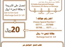 شريحة ليبارا رقم ثلاثي بسعر خاصLebara Simcard Special Number
