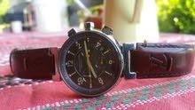 للبيع ساعة louis vuitton بحالة ممتازة