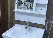 أطقم مغاسل حمامات ( PVC , ستينليس )
