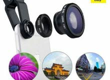 Camera Lens Kit for iPhone and Android Phones (Wide Angle, Micro and Fish eye)