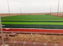 توريد وتركيب عشب الإنجيل الصناعي وتنفيذ الملاعب وحدائق لاند سكيب من مؤسسة ملاعب