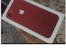 New iPhone 7 red, آيفون 7 أحمر جديد 128GB