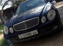 Mercedes Benz E 240 2002 For sale - Blue color
