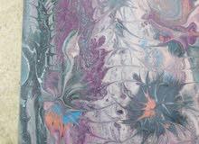 لوحات كانفس رسم يدوي جديده بمقاسات مختلفه الوان اكليريك مع امكانيه توصيه الالوان
