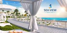 للبيع شاليه غرفتين بالقسط في منتجع Sea View