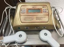 جهاز يعمل بلموجات الفوق صوتيه للبشره وجهاز للسوليليت وللنحت وللمساج
