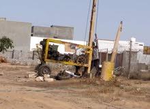 صوندا لحفر آبار المياه داخل طرابلس