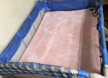 سرير اطفال حاله جيده جدا
