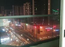 غرفه وصاله مفروشه للايجار الشهري في عجمان بأبراج السيتي تاور شامل الفواتير والنت