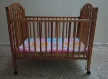 سرير اطفال لوح بسعر 200 من الاخير المكان شارع الزاوية
