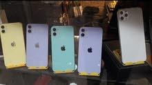 جميع الايفون من ايفون 6ل12برو ماكس وحاله ممتازه
