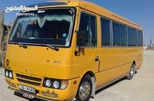 باص مدرسة 23 راكب للايجار للرحلات والاعراس بأسعار معقولة