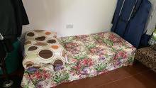 سرير للإيجار ( مطلوب شخص يشارك غرفة في الصناعية مدينة زايد الظفرة )