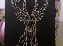 لوحة فنية سترينغ ارت string art