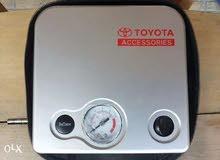منفاخ تيوتا الاصلي قوي وجبار لجميع السيارات عملي جدا قوه ضغط 80 بار