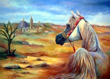 لوحات زيتية للفنان فواز أيوب
