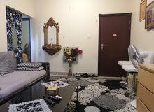 غرفه وصاله مفروشه للايجار الشهري في عجمان شارع الكويت