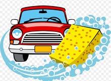 خدمة تنظيف السيارة بالماء والصابون