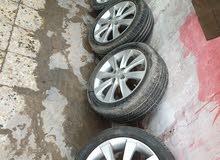 ويل كب مع الاطارات لسيارة اكسنت 2014 يرهم لبعض السيارات الكورية حجم 16 لاستفسار