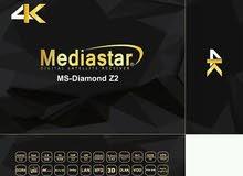 بلدوزر الرسيفرات MediaStar Diamond Z2 4K حصريا لدينا الااان
