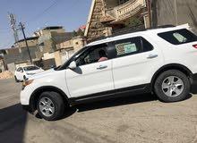 White Ford Explorer 2013 for sale