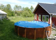 Intex Wood-Grain Frame Pool 478x124cm