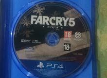 قرص far cry 5 ريجن all للبيع أو المراوس ب gta 5