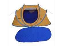 خيمة المبيت شتويه لون ازرق