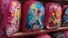 حقائب مدرسيه. بناتي وولادي..  صناعه تركي درجه اولى..  قطعتين كبيره وصغيره