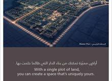 ارض زاوية سكنية في الريمان على 3 شوارع للبيع
