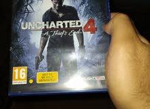 اسطوانة uncharted 4 مدبلجة بالعربي