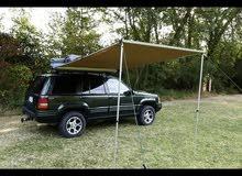 مظلة سيارات جانبية جودة ممتازة للرحلات وجلسات خارجية