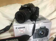 canon 600d  weth 18-55mm kit lens  full box  acsess