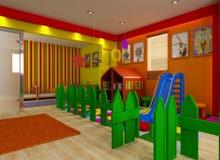 مطلوب مبنى حضانة اطفال للايجار او حضانة معروضة للبيع
