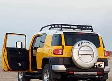 Toyota FJ Cruiser 2008 For sale - Yellow color
