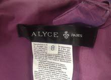 فستان كبير موديل كلاسيكي شبه جديد من فرنسا