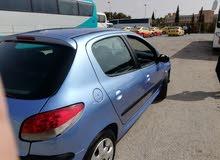 1 - 9,999 km mileage Peugeot 206 for sale