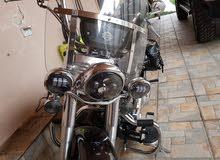 دراجة هارلي ديفدسون هيراتش موديل 2011 مميزة جدا للبيع او المبادلة