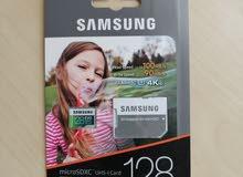 Samsung micro sd 128GB ميموري