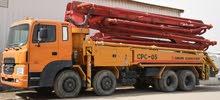 Truck mounted concrete pump excellent condition
