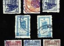 مجموعة من الطوابع العربية النادرة