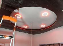 مكتب مهندس امجد لديكورات بلاستك و بورك و سقف ثانوي بديكور07716225734