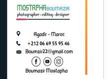نقدم خدمات التصميم و المونتاج و التصوير الإحترافي