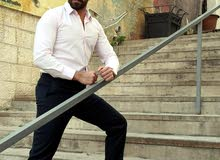 قمصان رجالي إيطالي وأنواع جديده من أفخم الاقمشة والألوان
