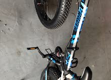 دراجه جبليه ولجميع المواسم قابله  لطي من نوع لاند روفر