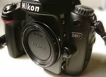 كاميرا نيكون دي 80...وملحقات Nikon D80 Camera