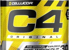 C4 pre workout - باور