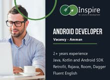 Android Developer: Vacancy in Amman