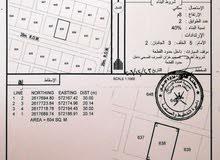 ارض في  ولايه بركاء بسعر 4200 فقط